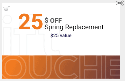 Spark Garage Doors Aurora - $25 OFF Coupon for Spring Replacement