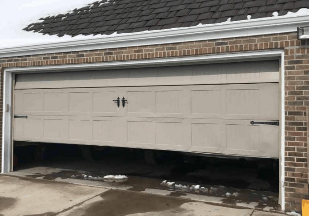 fixing garage door