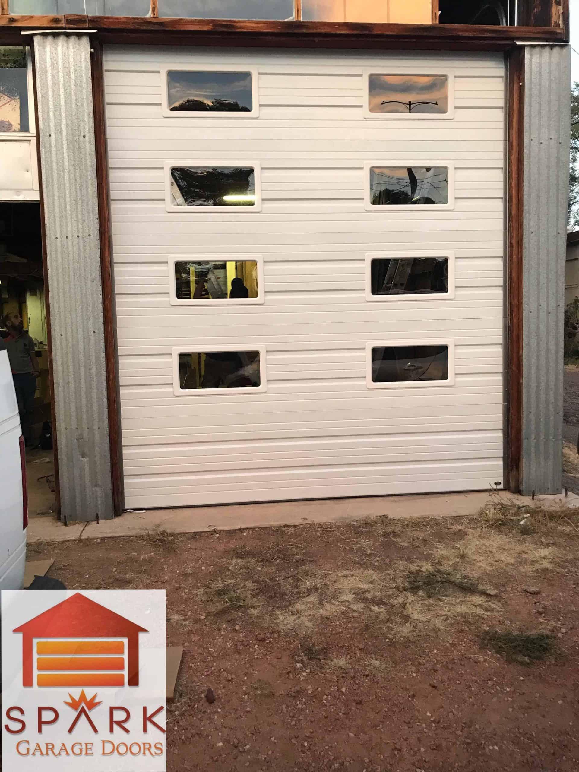 installing-the-garage-door