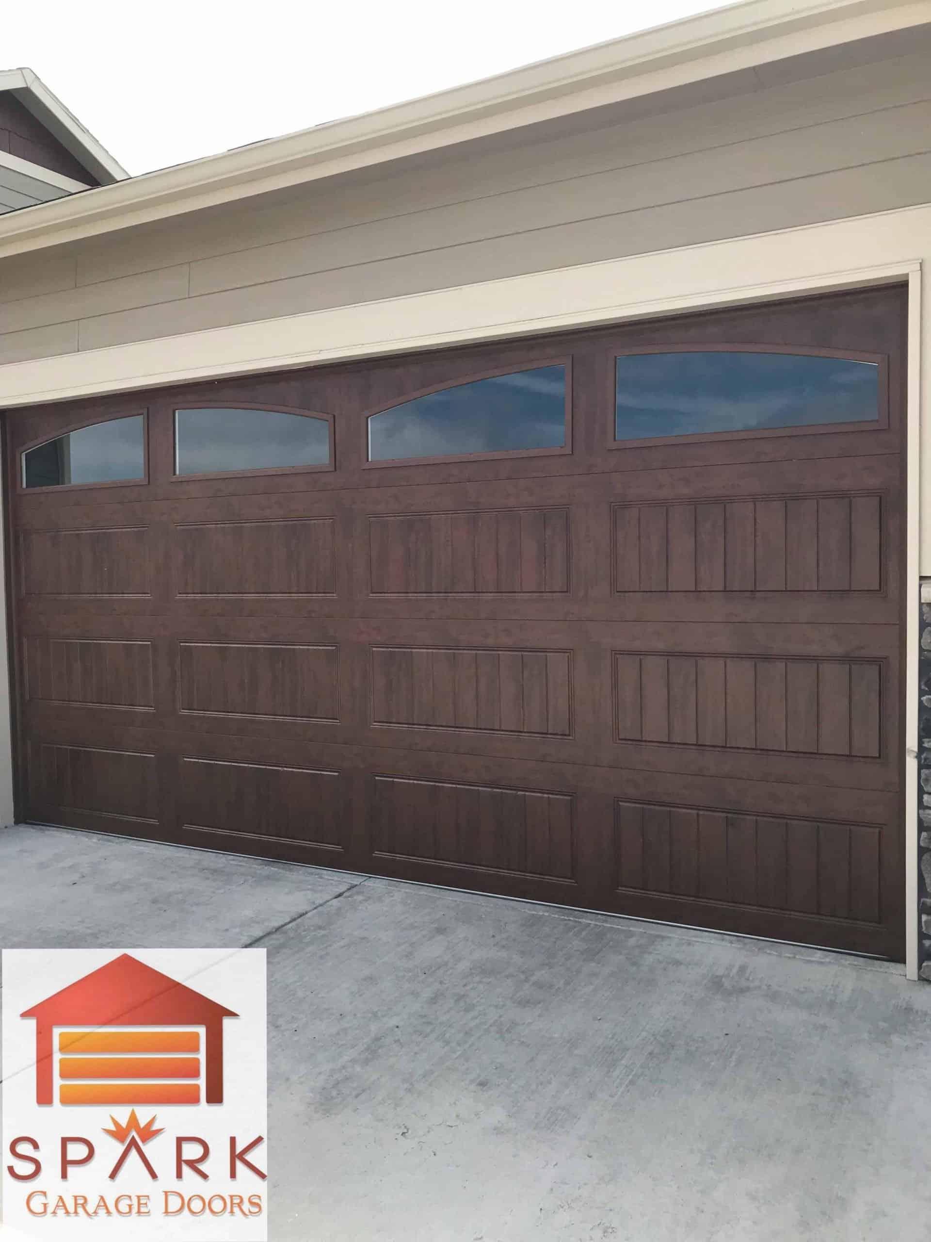wood-garage-door-after-installation