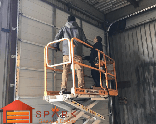 Spark Garage Doors Aurora - Commercial Garage Door installation in Aurora